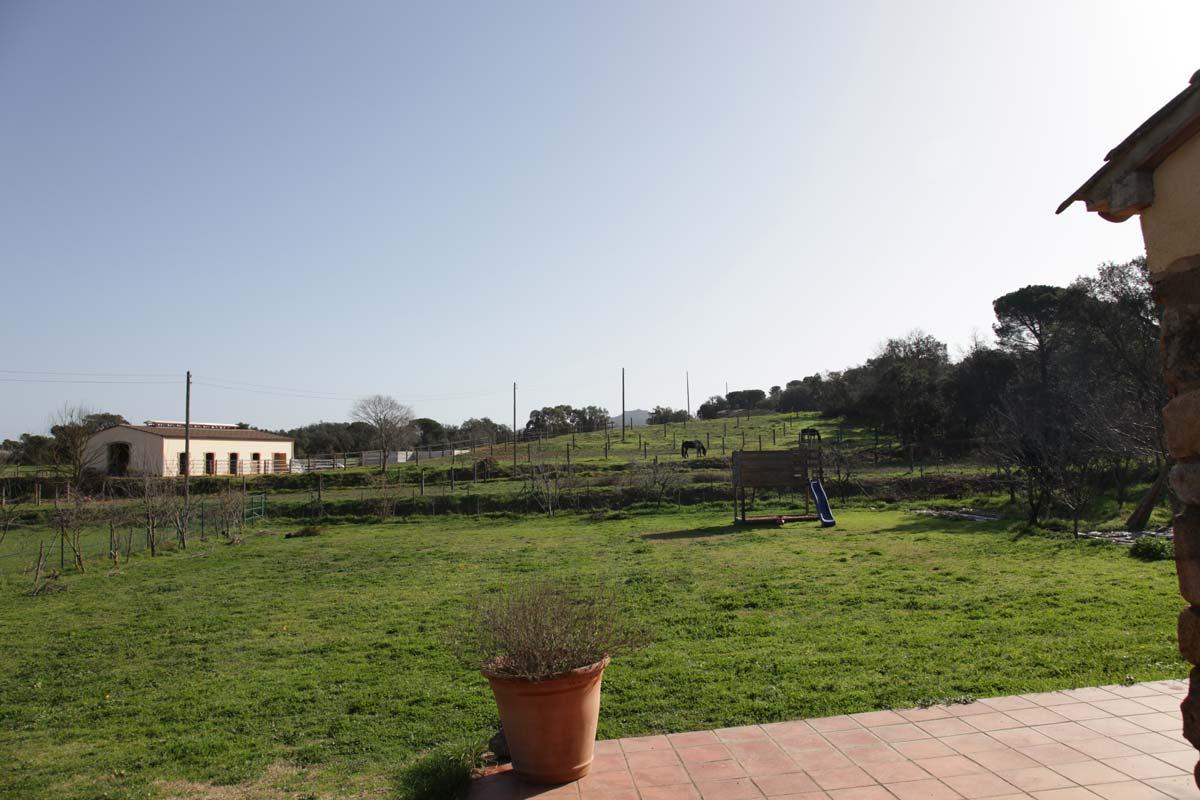 Terraza y vistas desde la misma casa